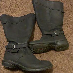 Black Merrell Boots 8.5